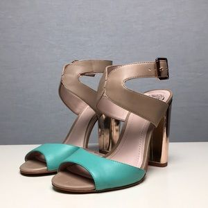 Brand New Vince Camuto Heels w/ Rose Gold Details